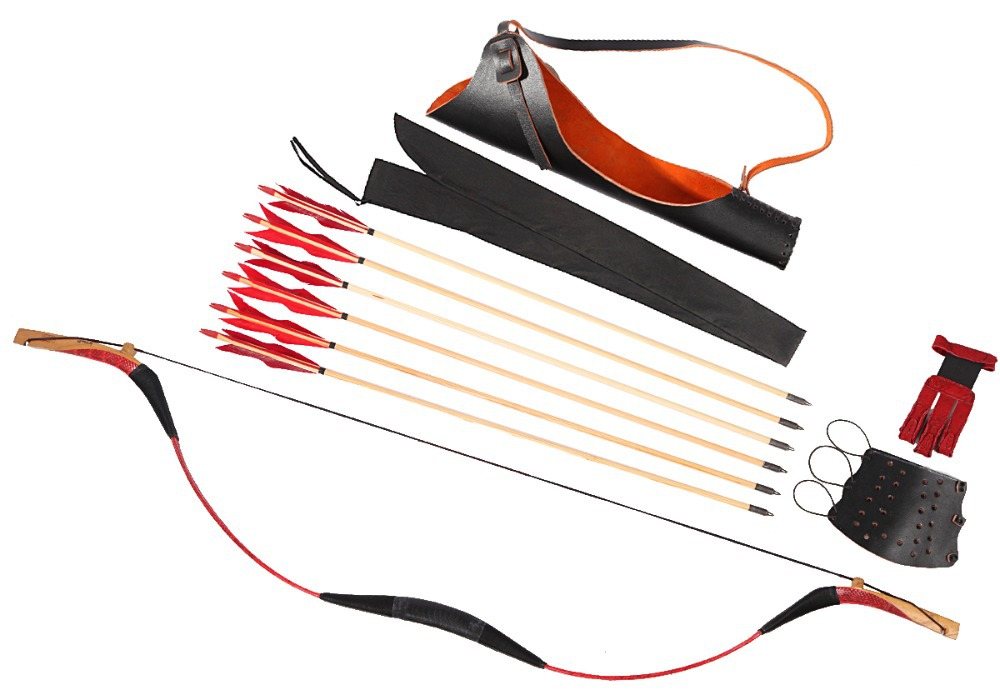 how to set a recurve bow