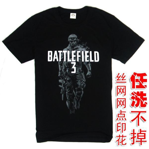 Shipping-Battlefield3-t-shirt-silk-screen-print-3-clothes-bf3-a3-big1