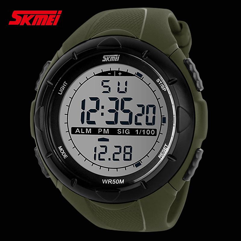 skmei brand led digital dive swim