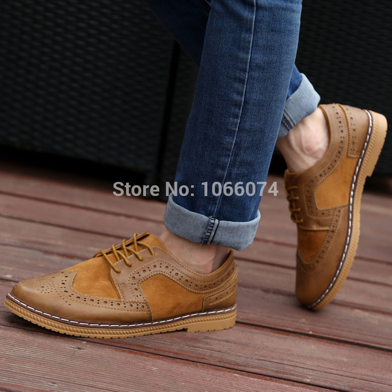 Free Shipping 2014 new European style oxford shoes breathable casual men 's shoes tennis shoes